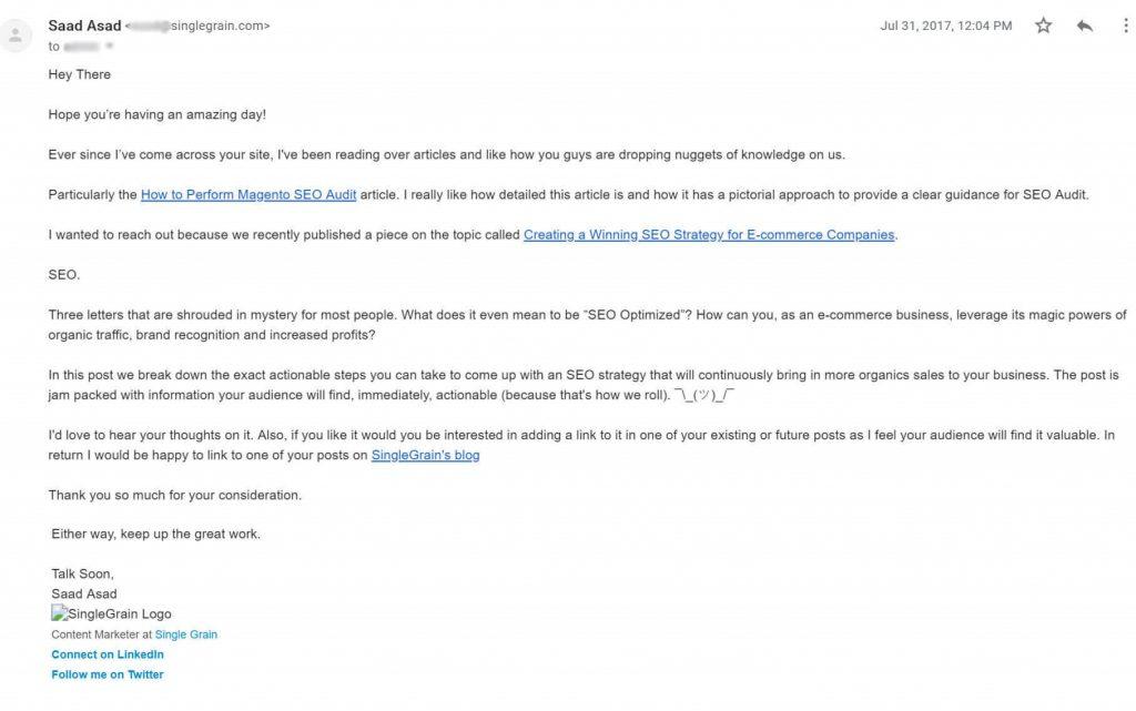 sg link building email
