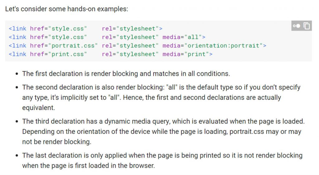 google developer documentation